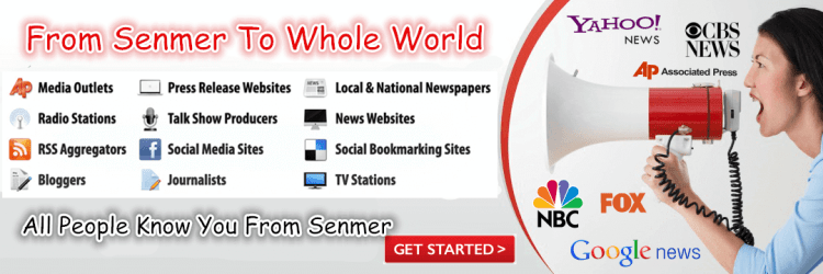 Senmer news press release service