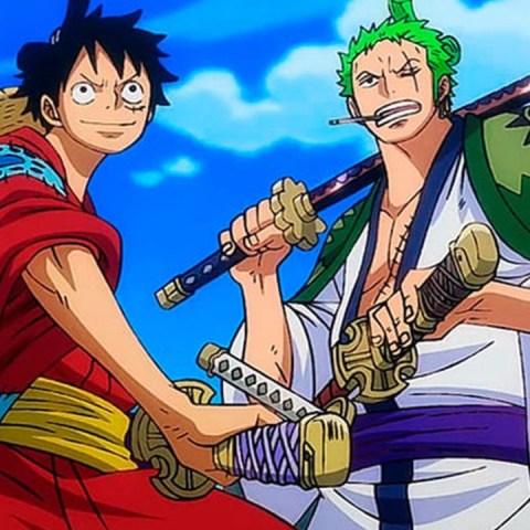 One Piece Luffy Zoro