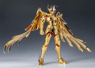 Japón subastará una figura de Seiya de Sagitario en oro real