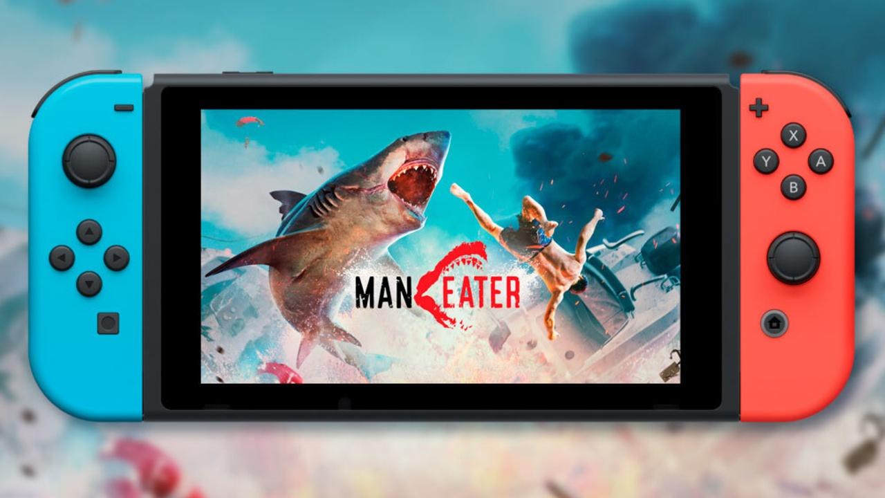Maneater Nintendo Switch lanzamiento llegada fecha precio