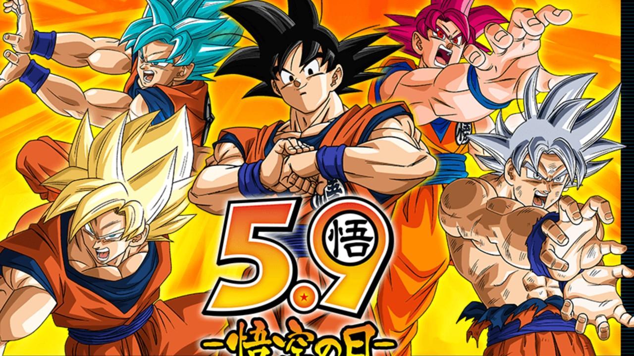Eventos en el Día de Goku