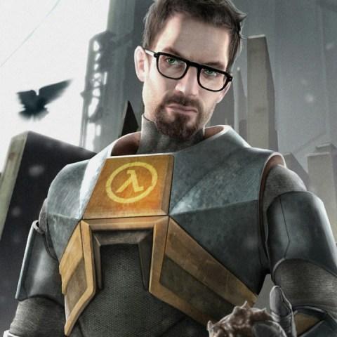 Half-Life-Gordon Freeman cosplay valve videojuegos