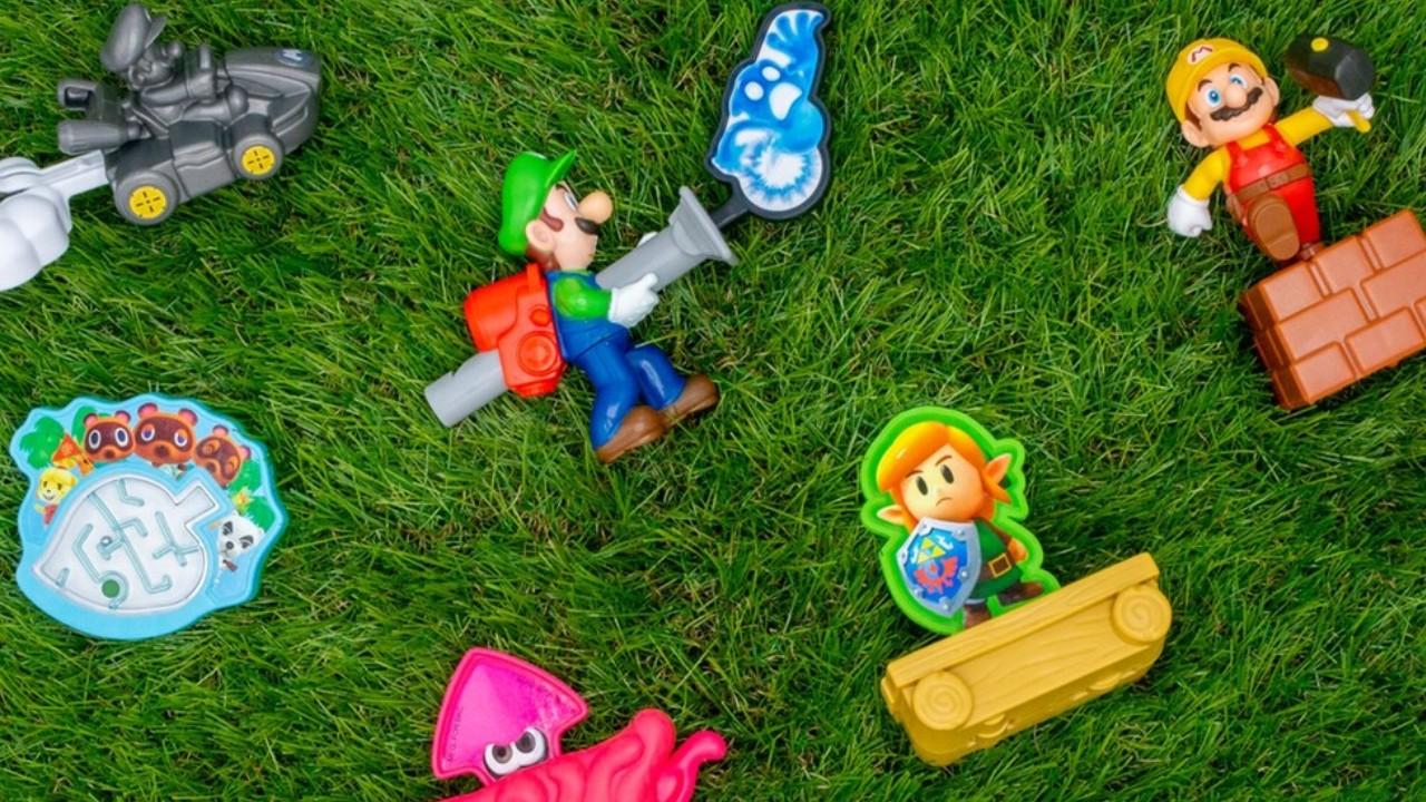Figuras de Nintendo en Burger King Mexico
