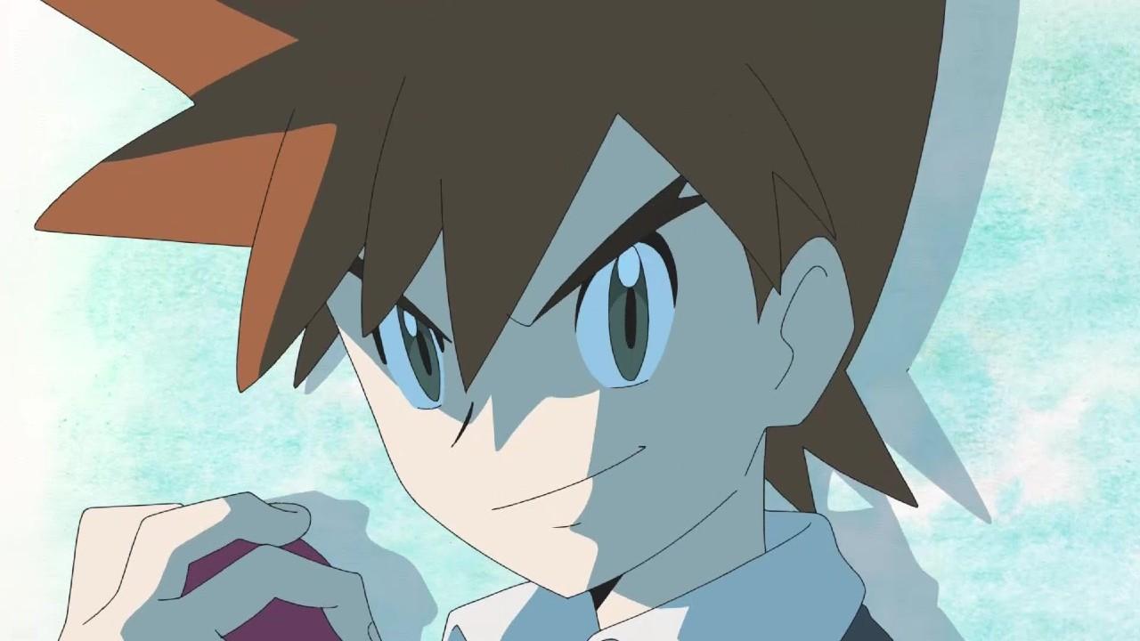 Gary Oak en Pokémon Journeys