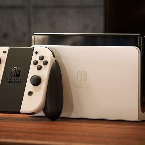 Nintendo Switch OLED dock venta por separado