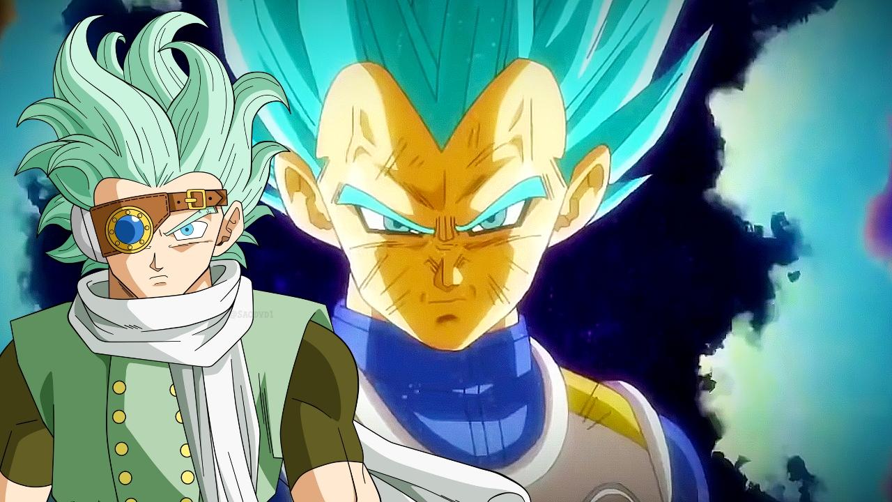 Vegeta VS Granona Dragon Ball Super manga