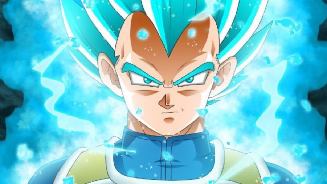 SSGSS Blue Vegeta Dragon Ball Anime