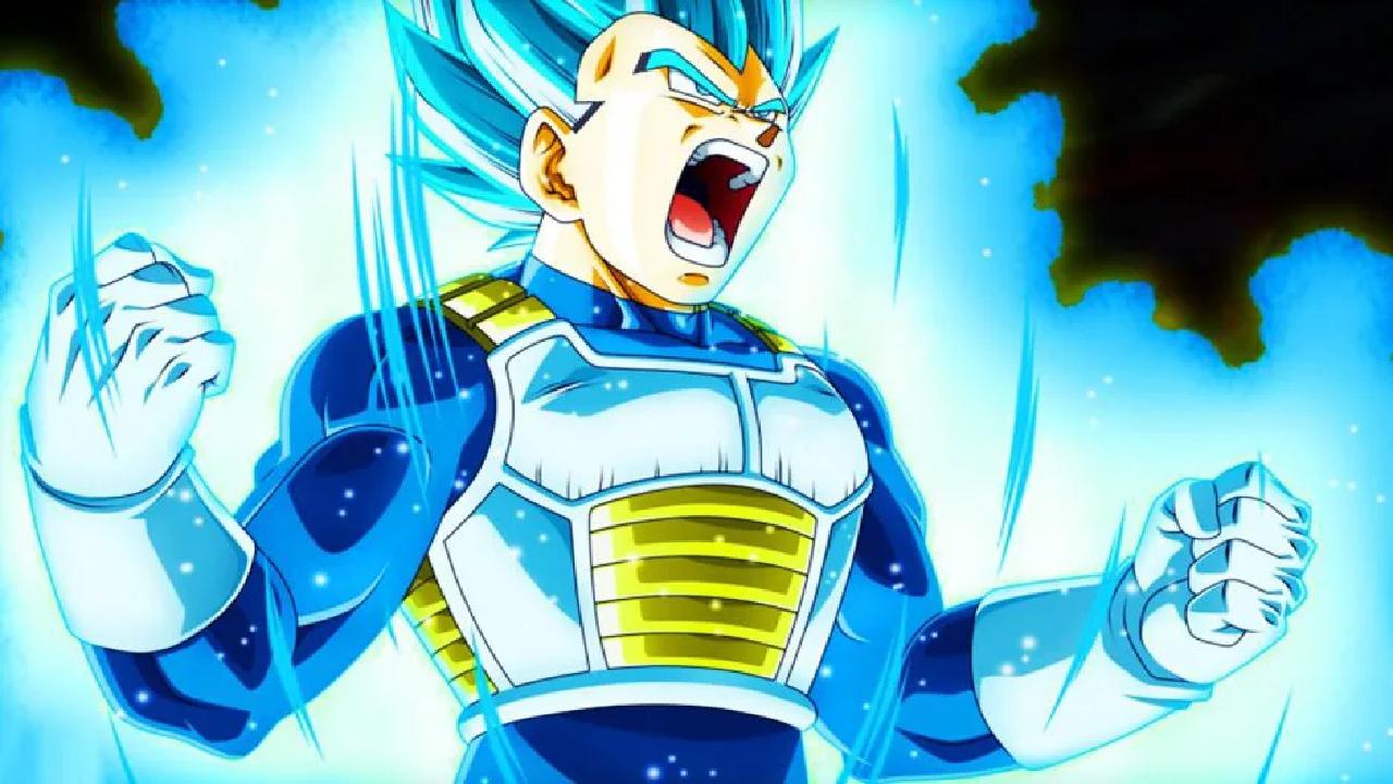 SSB Full Power Vegeta Dragon Ball anime