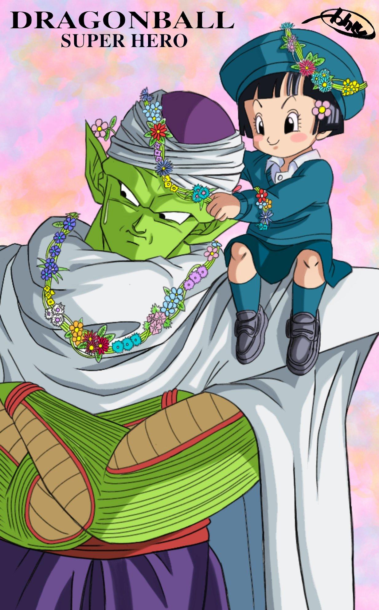 Piccolo Pan Dragon Ball Super Super Hero