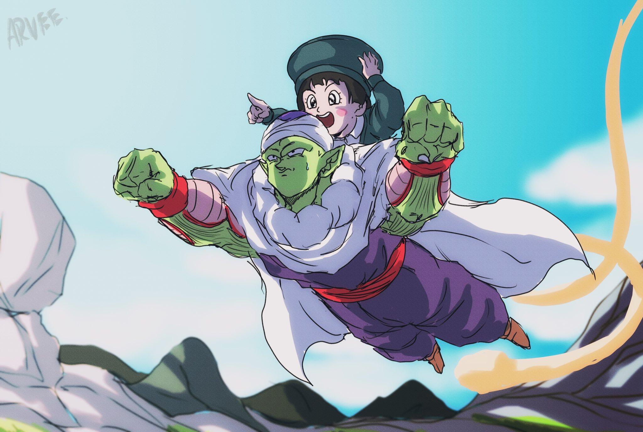 Pan Piccolo Dragon Ball Super Super Hero