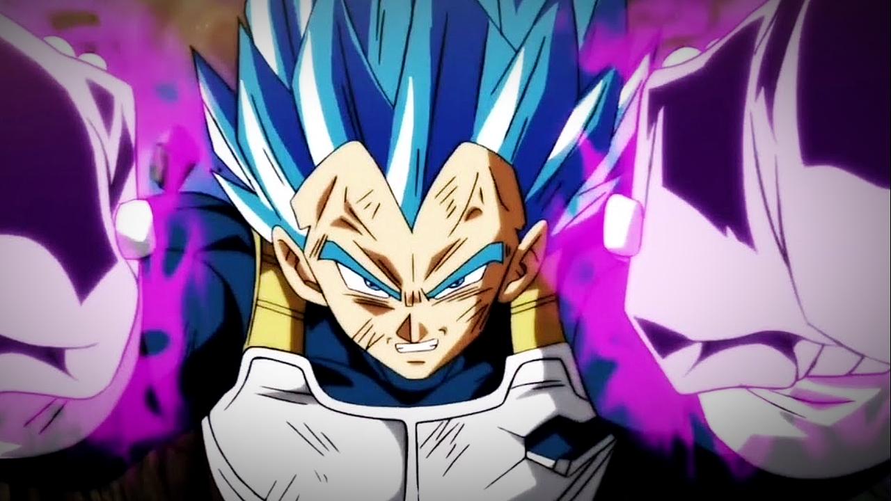 Vegeta Hakaishin anime manga de Dragon Ball