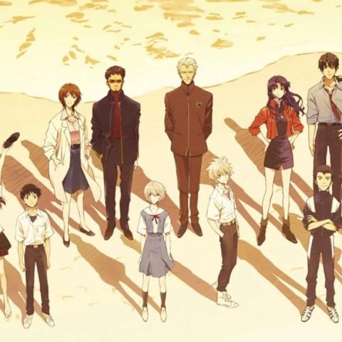 Doblaje Rebuild of Evangelion películas