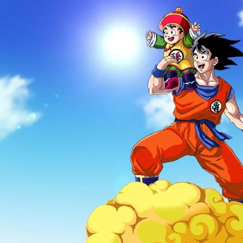 Dragon Ball Z título anime serie Gohan