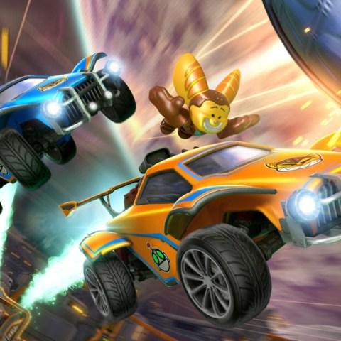 Ratchet & Clank Rocket League Epic Games