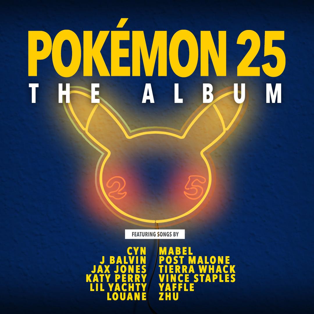 Pokémon 25 álbum musical