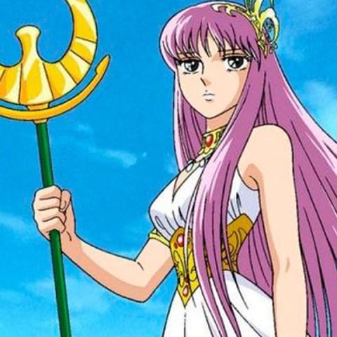 Cosplay de Athena Caballeros del Zodiaco