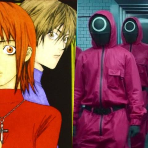 El juego del Calamar influencias anime