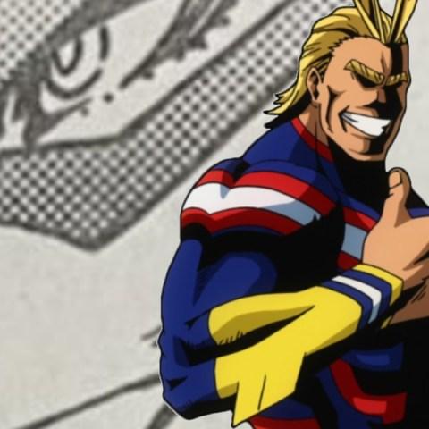 Imágenes de My Hero Academia manga 328