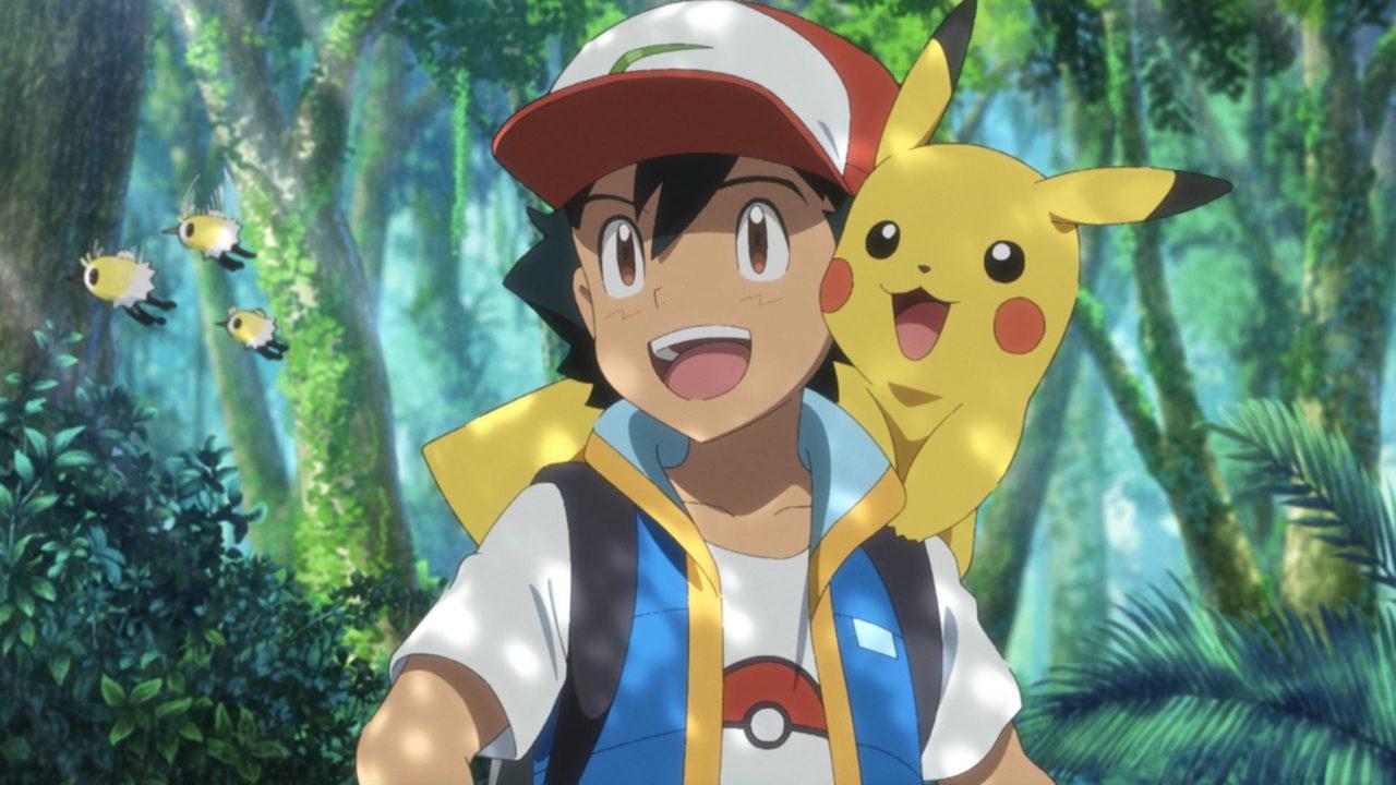 Pikachu Ash Pokémon secretos selva
