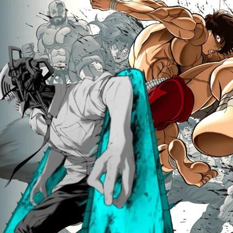 Baki manga creador de Chainsaw man tributo