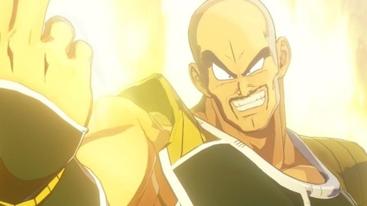 Nappa como Super Saiyajin 3 en Dragon Ball