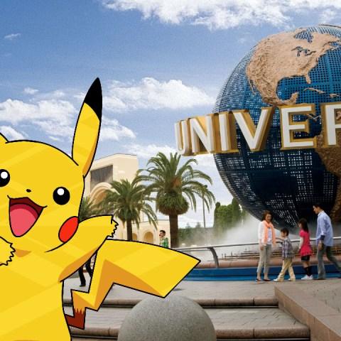 Pokémon Universal studios Japan paruqe temático