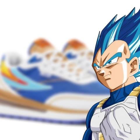 FILA Dragon Ball Super línea de tenis Vegeta