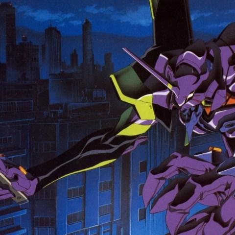 Evangelion Anime Godzilla Fanart