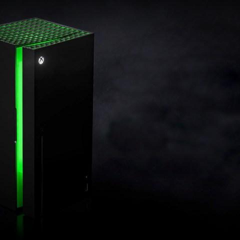 Xbox Series X frigobar mini fridge