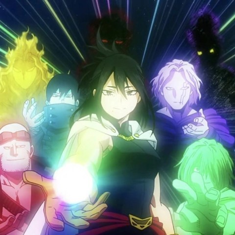 My Hero Academia One For All poderes