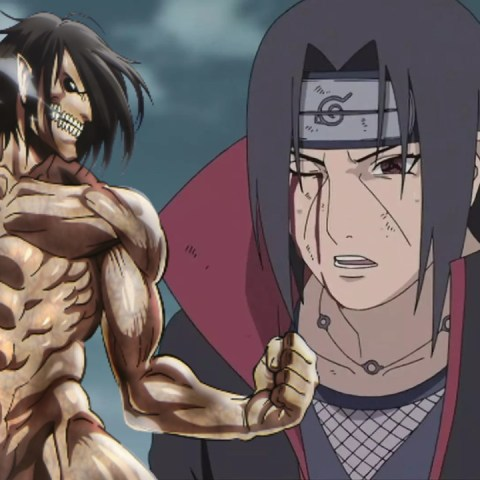 itacho uchiha personaje attack on titan anime naruto
