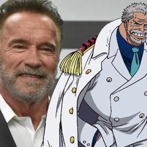 Arnold Schwarzenegger en One Piece