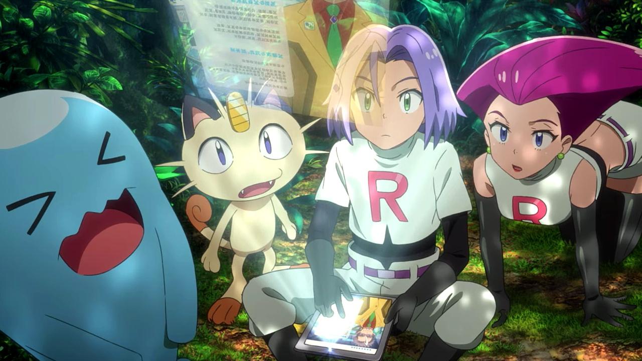 Equipo Rocket Pokémon Selva