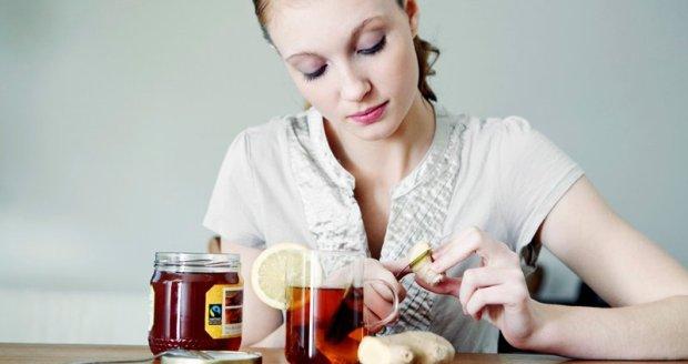 Dvignite odpornost z ingverjem