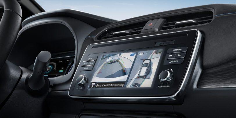 Camaras - Nissan Leaf con ProPilot