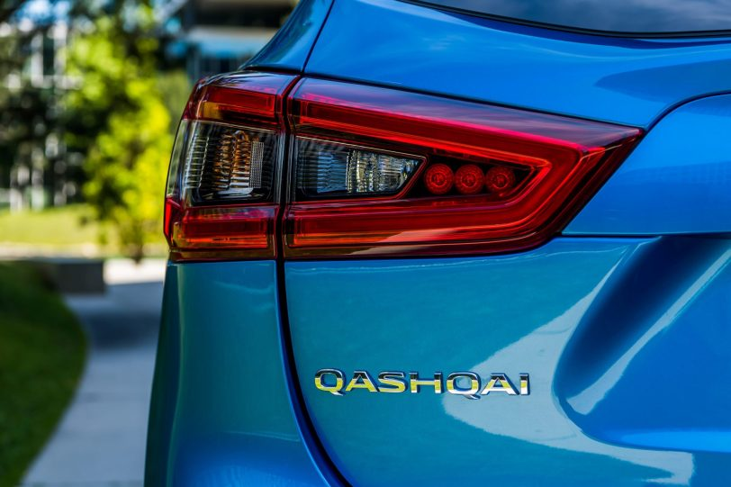 pilotos traseros - Nissan Qashqai 2018 con ProPILOT