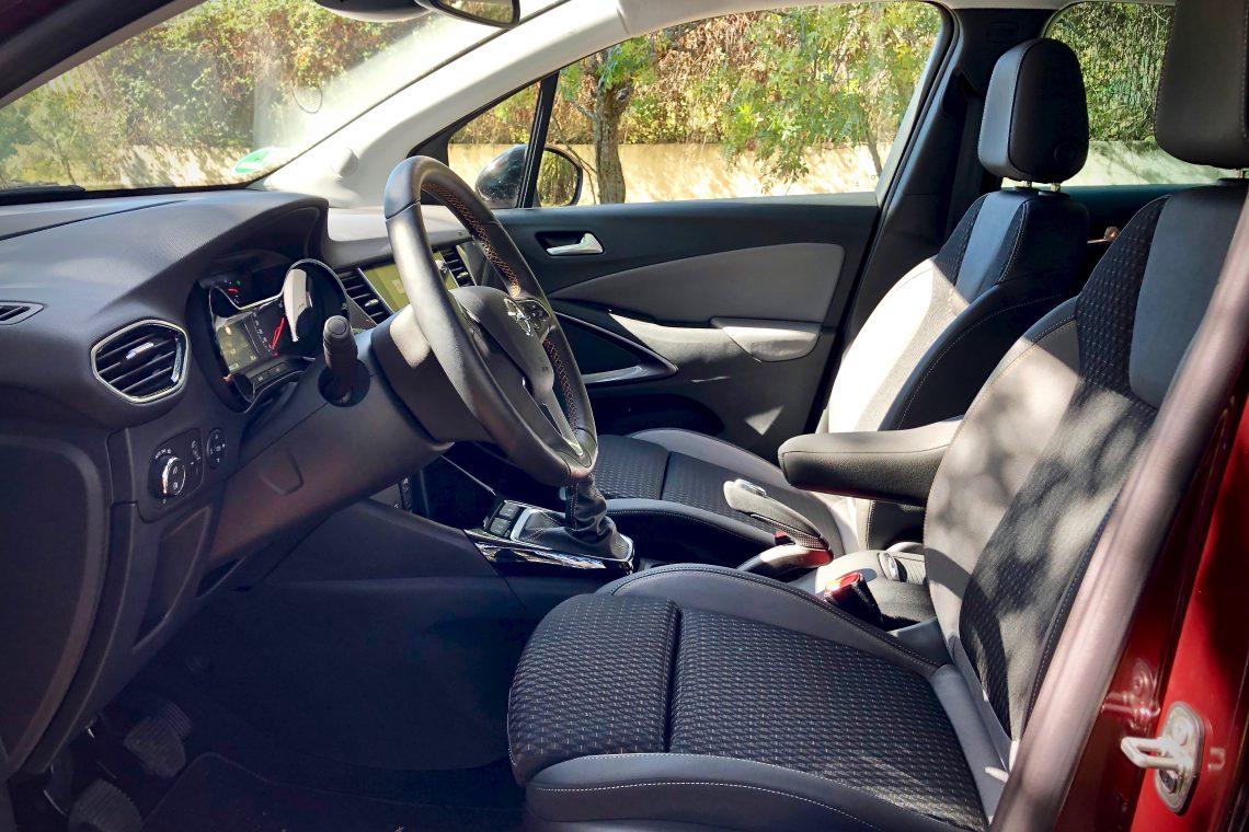 Plazas delanteras 1140x760 - Opel Crossland X Innovation 1.5 ECOTECD 102 CV