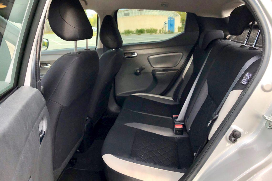 Plazas traseras 1140x760 - Nissan Micra 2017 – 2018 Acenta 0.9 IG-T 90 CV