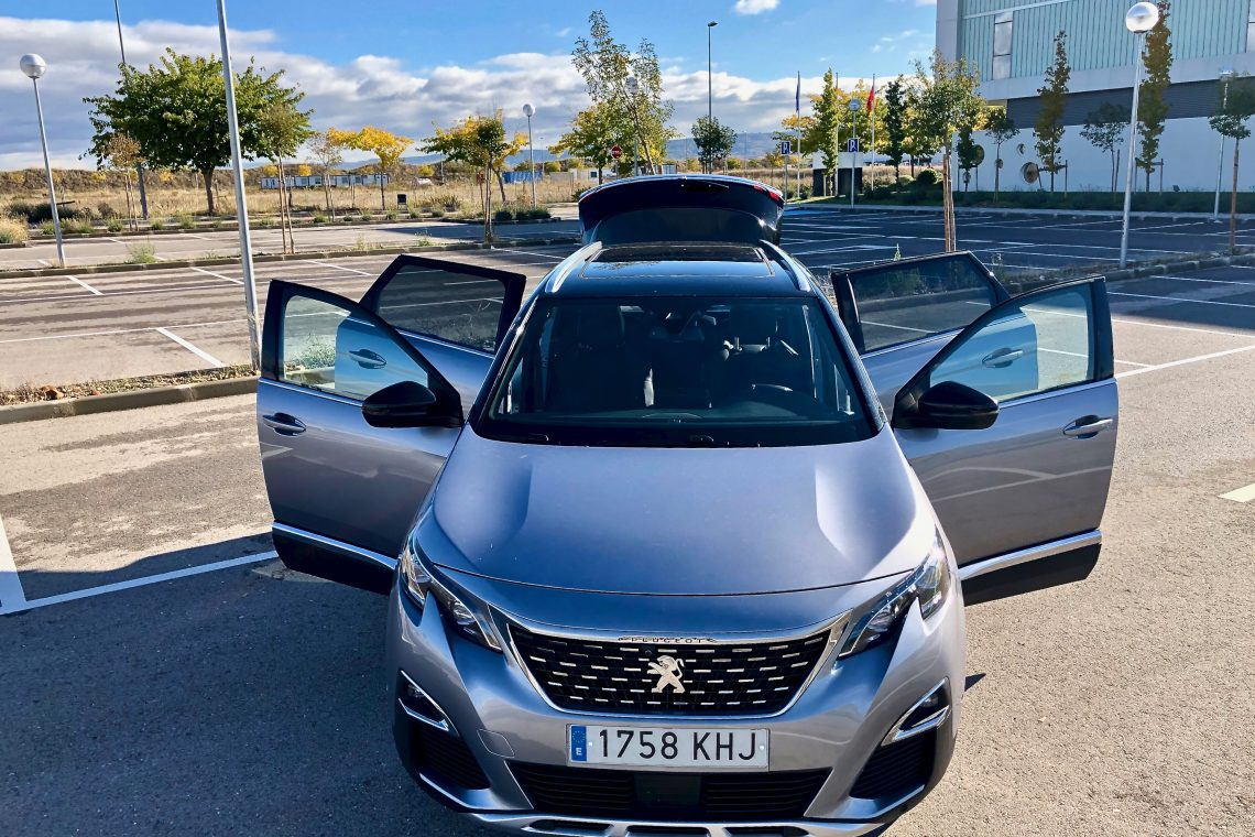 Vista desde arriba 1140x760 - Peugeot 5008 GT Line 1.5 BlueHDI 130 CV