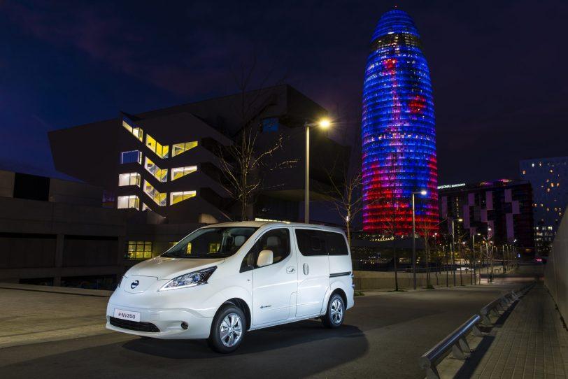 Comportamiento 2 e nv200 evalia - Nissan e-NV200 7 plazas 40 kWh de capacidad