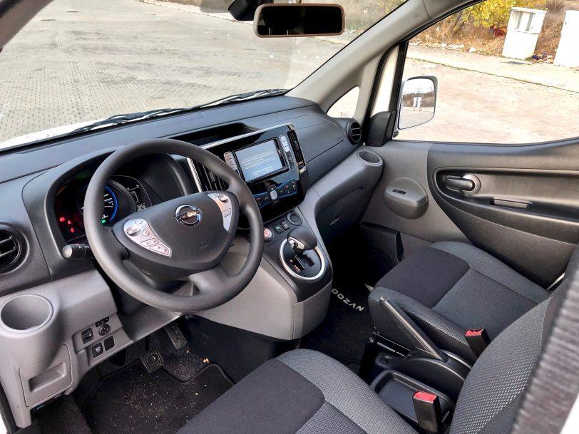Interior e nv200 - Nissan e-NV200 7 plazas 40 kWh de capacidad