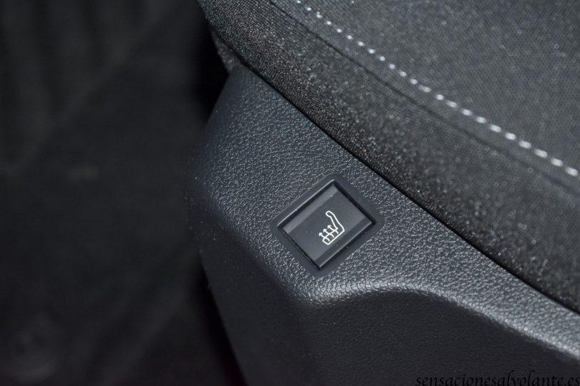 Boton asiento calefactable Opel Combo Life - Opel Combo Life: Un coche muy versátil
