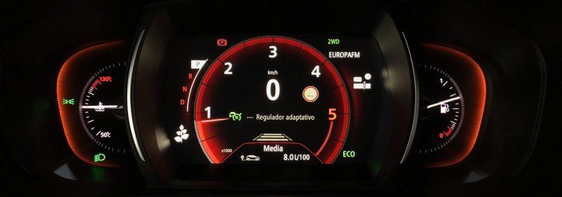 Cuadro de instrumentos Renault Koleos - Renault Koleos: Completamente renovado