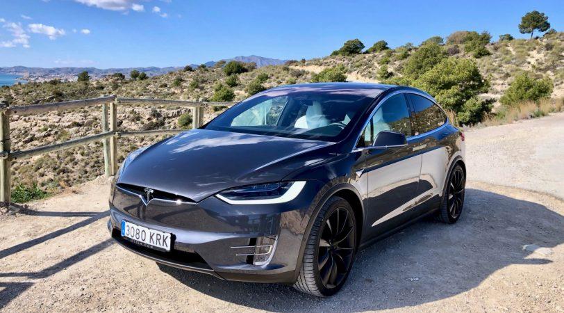Frontal Izquierdo Tesla Model X 100D - Tesla model X 100D: No es cualquier SUV