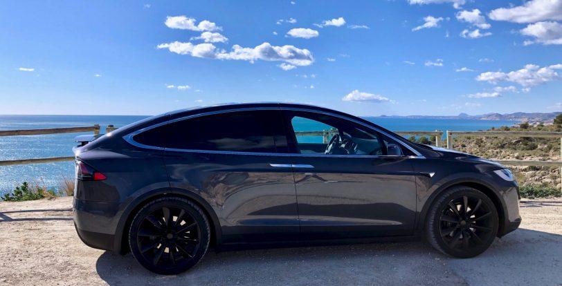 Lateral derecho Tesla Model X 100D - Tesla model X 100D: No es cualquier SUV