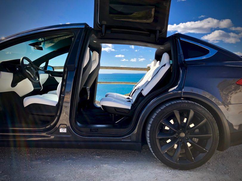 Plazas traseras Tesla Model X 100D - Tesla model X 100D: No es cualquier SUV