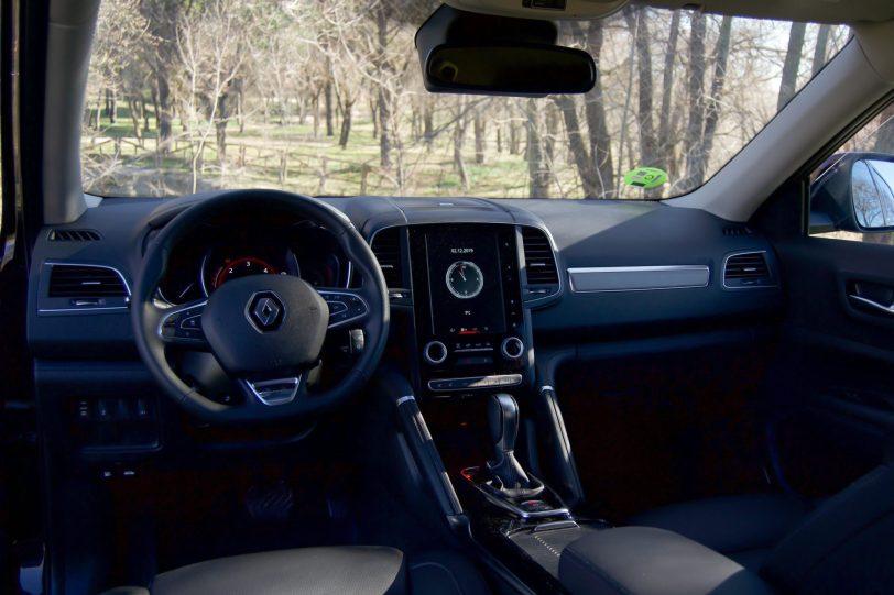 Salpicadero Renault Koleos - Renault Koleos: Completamente renovado