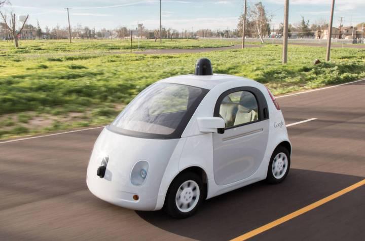 coche autonomo google - inicio