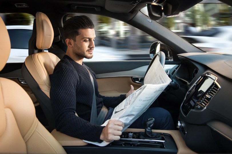 coche autonomo volvo - Los sistemas de conducción semi-autónoma