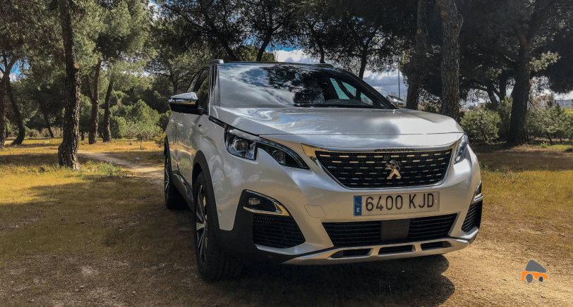 Frontal Derecho Peugeot 3008 - Peugeot 3008 GT BLUEHDI 180 CV